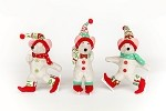 Toyville Skater Mice, set of 3