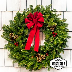 """Classic"" 30in Wreath 
