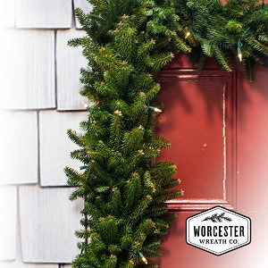 Pre-Lit Balsam Garland 9ft | Christmas Garland
