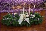 Christmas Grace Advent 5 Candle Centerpiece | Christmas Centerpiece