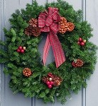 Highland 30in Wreath | Christmas Wreath