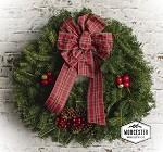 Highland 20in Wreath | Christmas Wreath